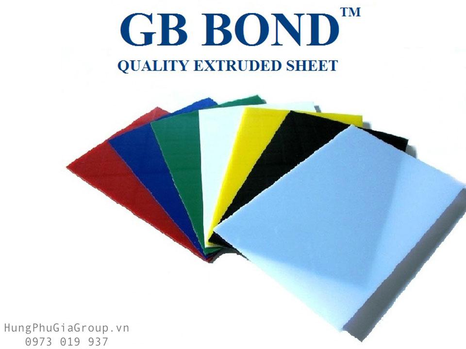 Tấm mica GB BOND nhập khẩu Malaysia