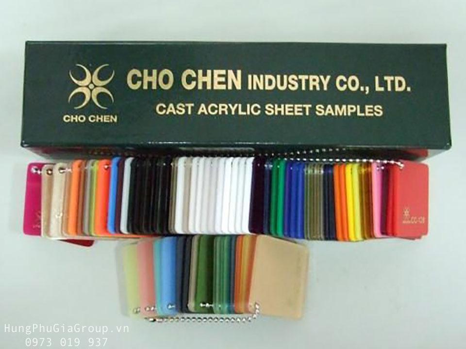Tấm mica Plastic sheets chochen Đài Loan