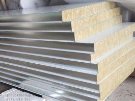 Panel Rockwool cách nhiệt chống cháy chống nước