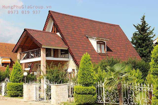 lựa chọn vật liệu lợp cho mái nhà