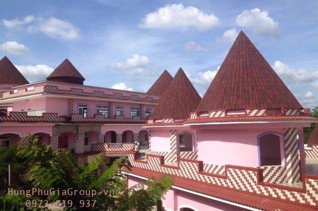 chọn vật liệu lợp cho mái nhà