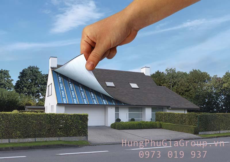 sử dụng vật liệu cách nhiệt khi xây nhà mới