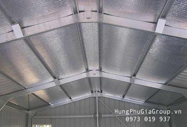 tấm cách nhiệt chống nóng mái tôn