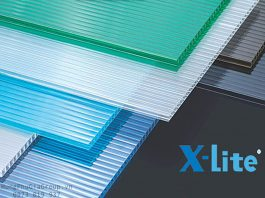 Tấm lợp lấy sáng Polycarbonate Xlite indonesia PC Sheet