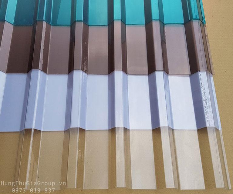 Tấm tôn nhựa lấy sáng Composite