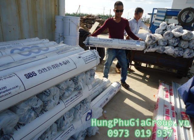 giấy dầu chống dột mái tôn bitum