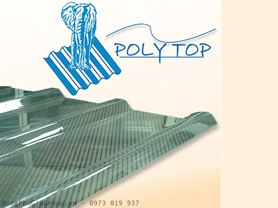 Tấm tôn 5 sóng trimdek 760 Polytop