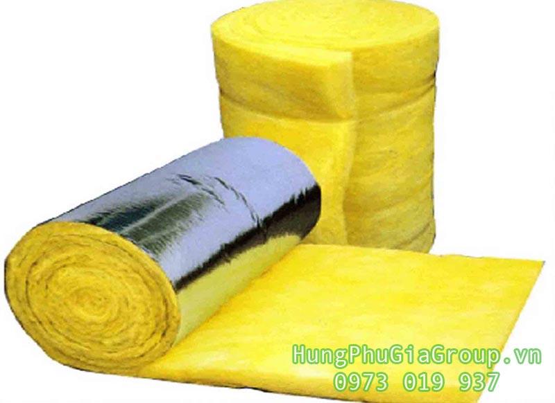 vật liệu bảo ôn - bông sợi thủy tinh cách nhiệt