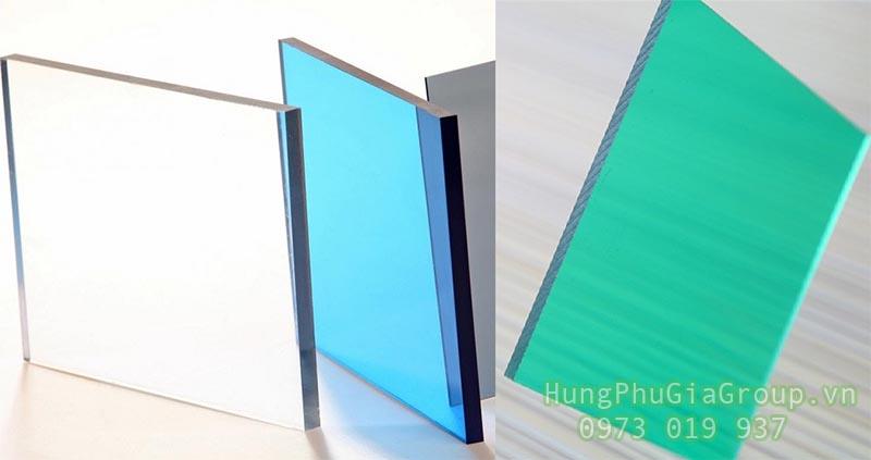 vật liệu làm giếng trời polycarbonate