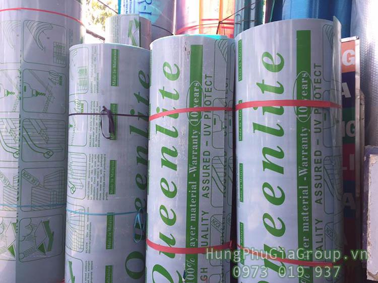 Tấm Poly Queenlite Đài Loan đang được HPG phân phối