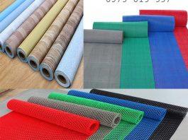 thảm nhựa trải sàn dạng cuộn