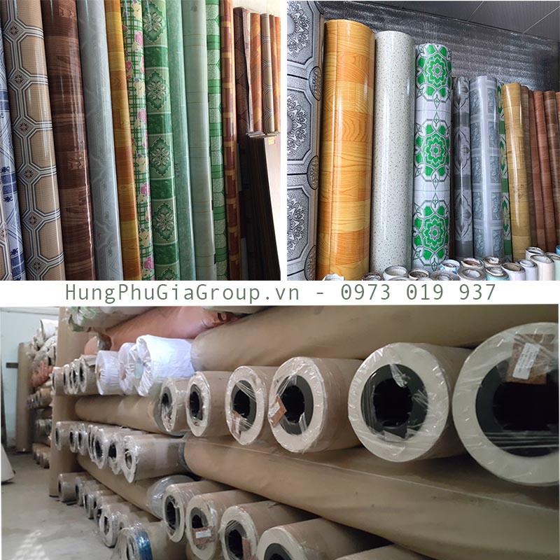 thảm nhựa lót sàn dạng cuộn giá rẻ