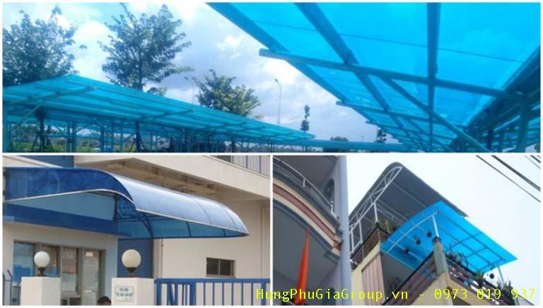 tấm lợp poly tại Bình Thuận