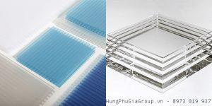 so sánh tấm mica acrylic và Polycarbonate