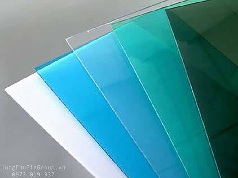 Tấm Polycarbonate đặc không màu trong suốt